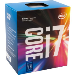 Core i7-7700K, 4,2 GHz (4,5 GHz Turbo Boost)